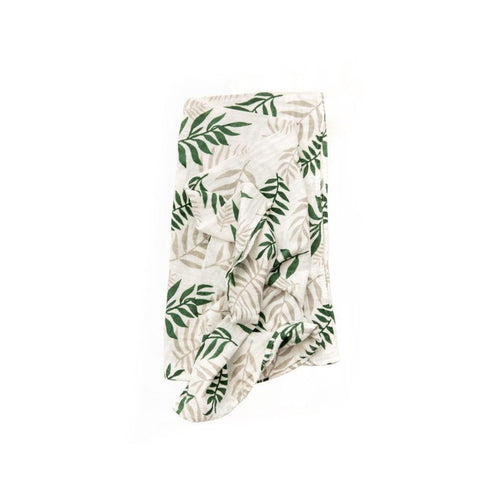Jungle Fern Swaddle Blanket - Project Nursery
