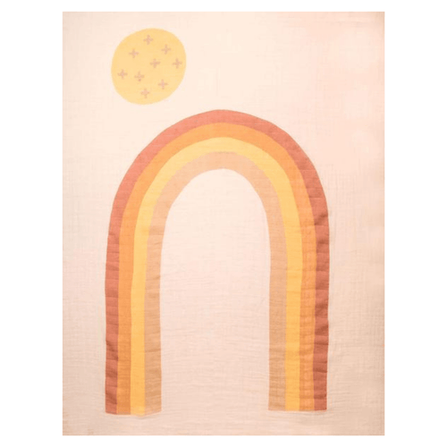 Rainbow Swaddle - Project Nursery