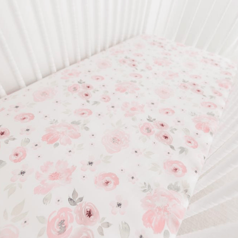 Mila Crib Sheet