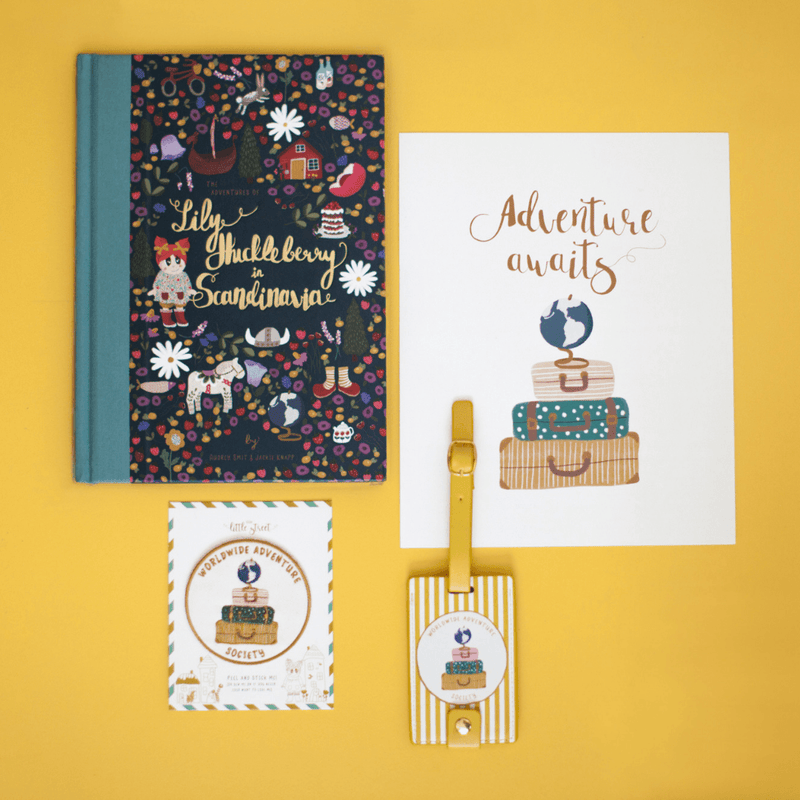 The Adventures of Lily Huckleberry + Scandinavia Gift Box - PN Exclusive - Project Nursery