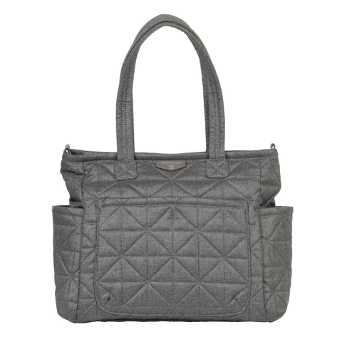Freshly Picked Mini Classic Diaper Bag - Stone