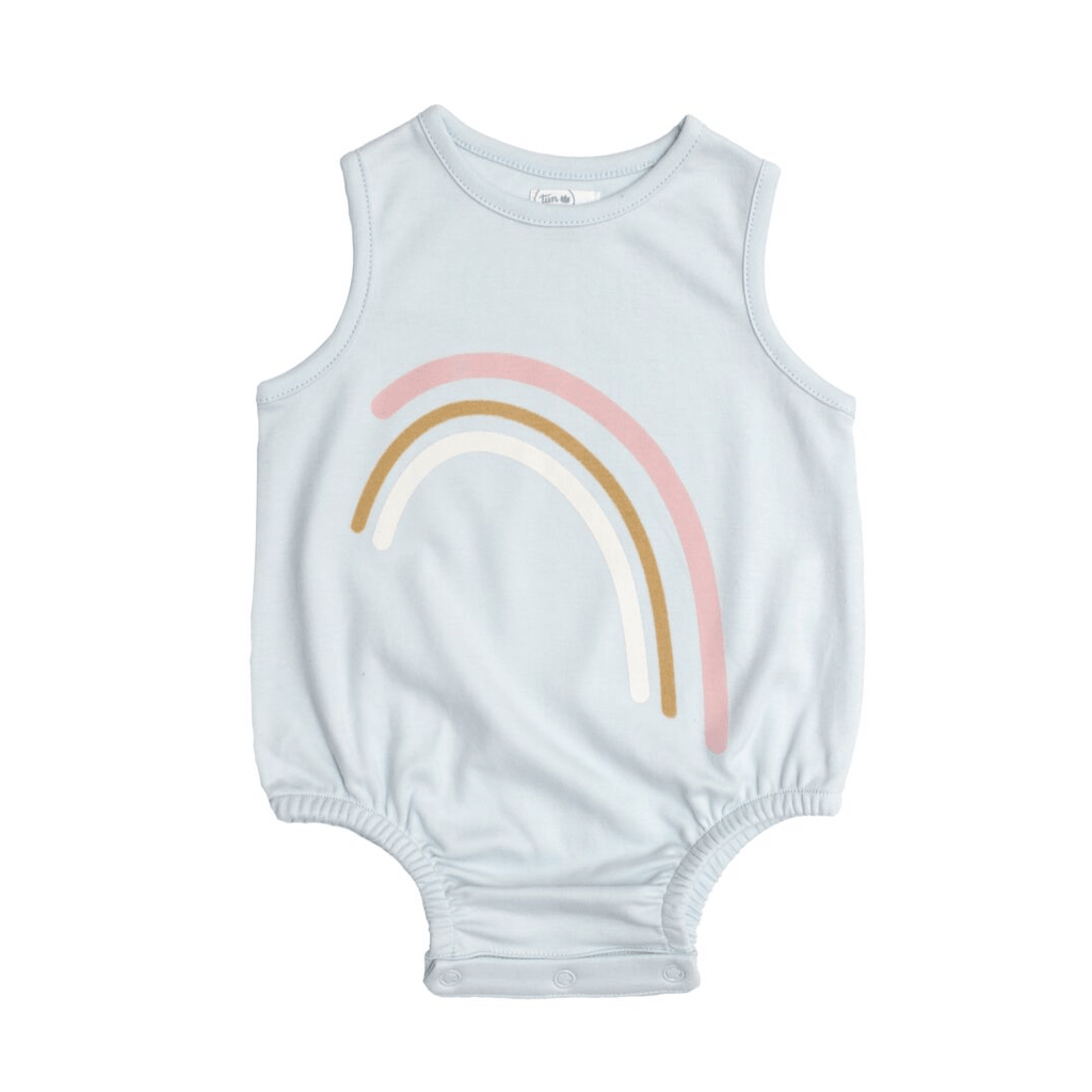 Rainbow Bubble Romper - Project Nursery