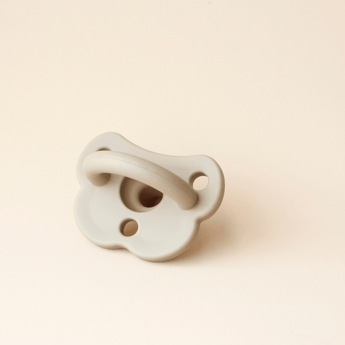 Silicone Pacifier - Taupe - Project Nursery
