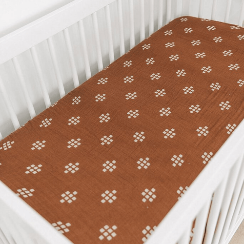 Chestnut Textiles Muslin Crib Sheet - Project Nursery