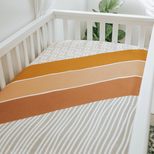 Wanderlust Crib Sheet - Project Nursery