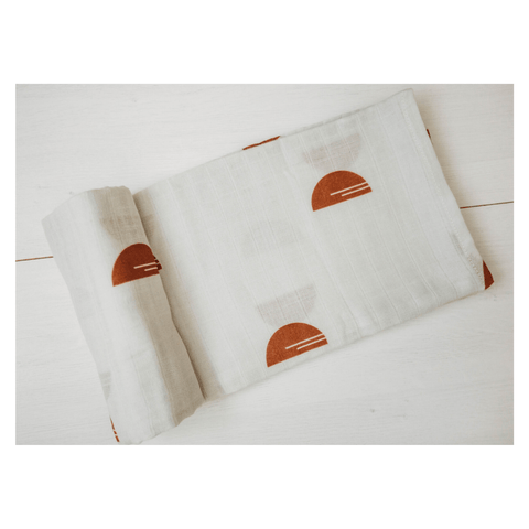 Music Parade - Organic Swaddle Blanket