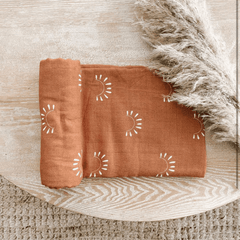 Sundown Muslin Swaddle Blanket - Project Nursery