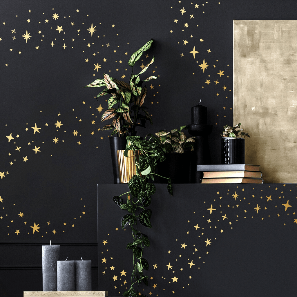 Sparkles + Stars Wall Decal Set - Choose Your Color - Project Nursery