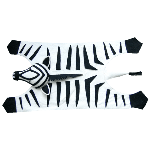 Zebra Rug - Project Nursery