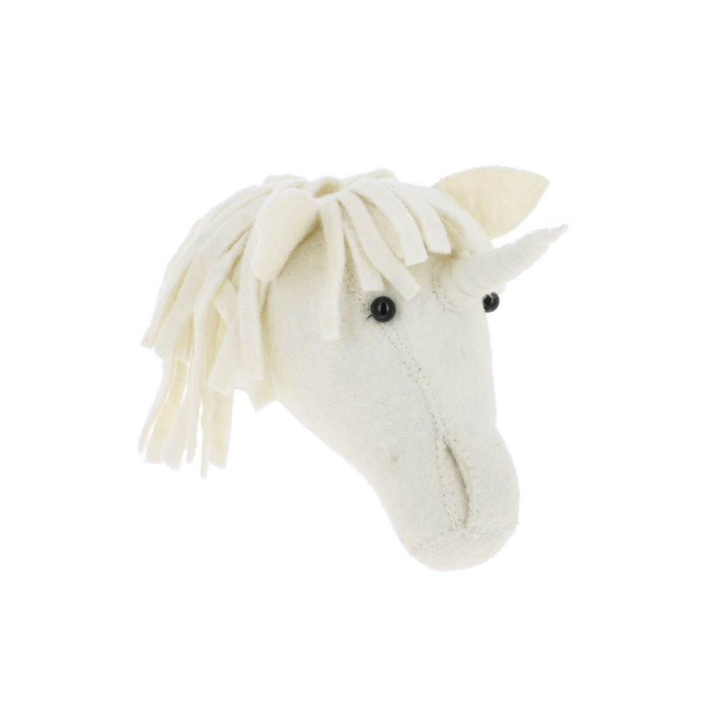 Mini Unicorn Head Wall Hanging - Project Nursery