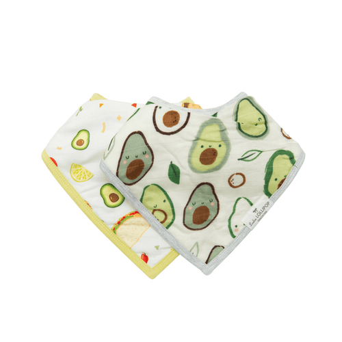 Avocado Bandana Bib Set - Project Nursery