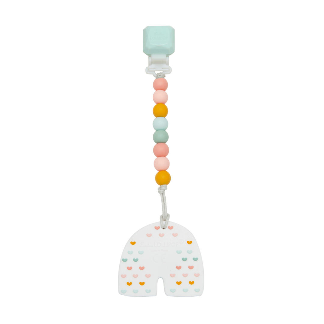 Pastel Rainbow Silicone Teether Set - Project Nursery