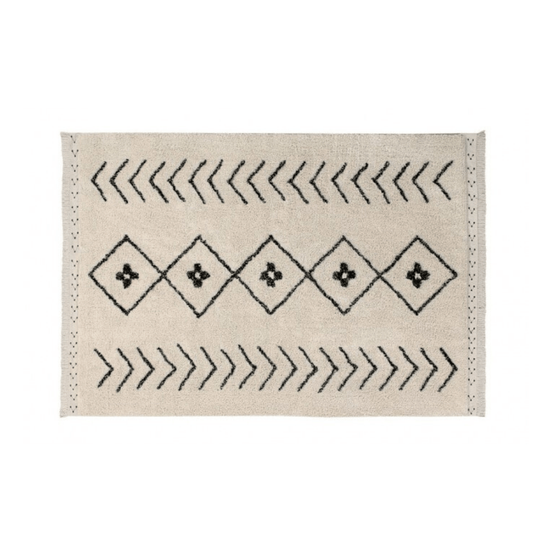 Bereber Rhombs Washable Rug - Project Nursery