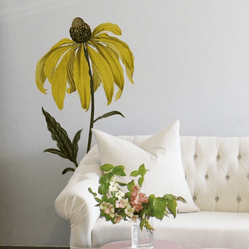 Pinnated Rudbeckia Decal - Project Nursery