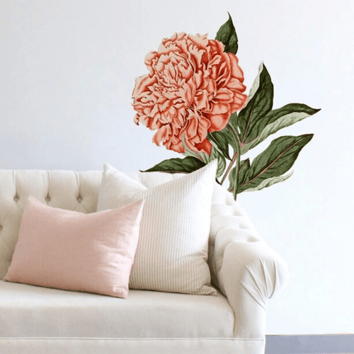 Chinese Peony Decal - Project Nursery