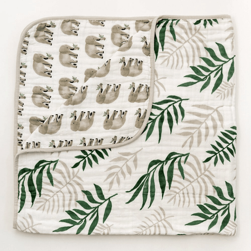 Jungle Fern Quilt - Project Nursery