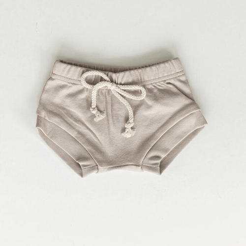 Cotton Shorts - Ash - Project Nursery