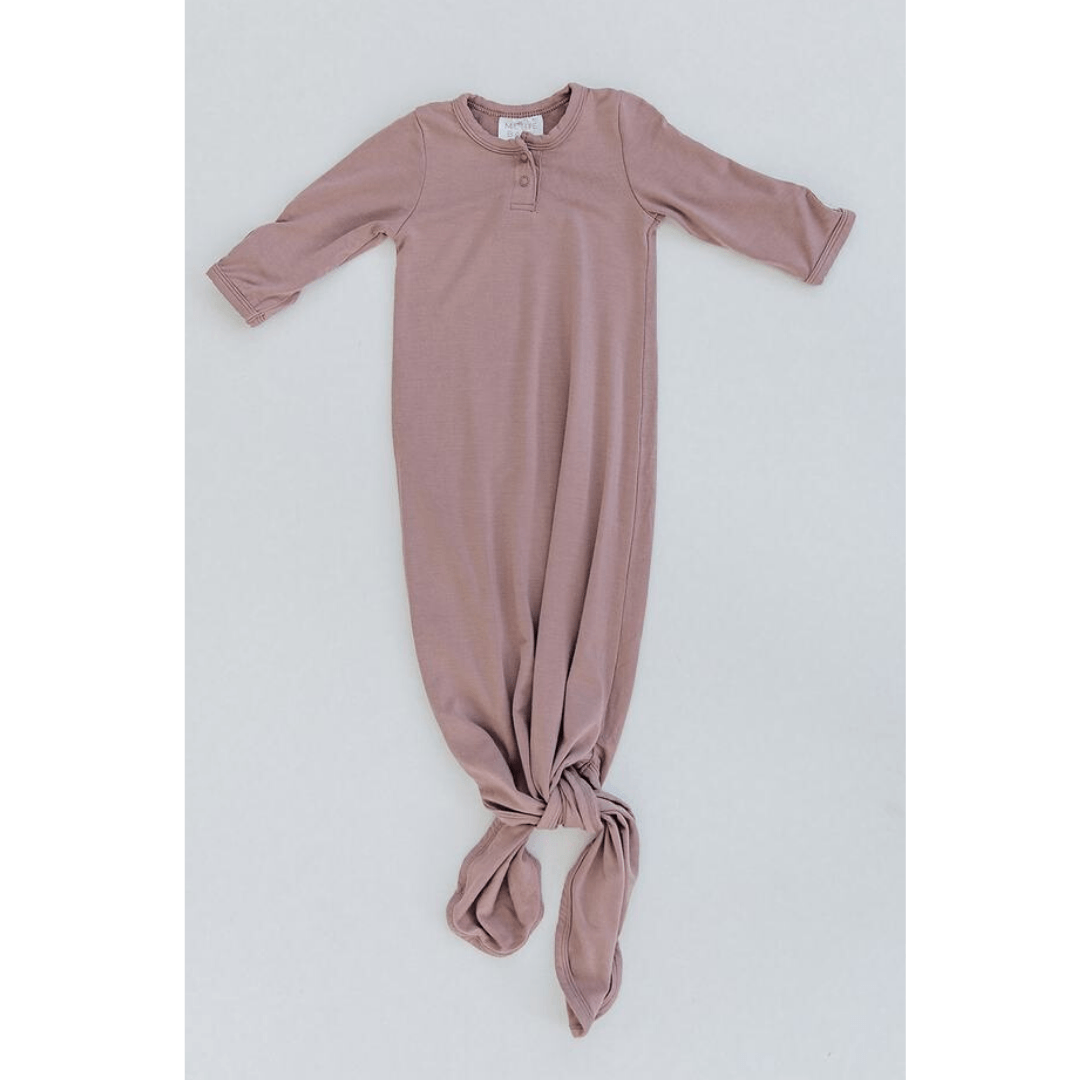Dusty Rose Knot Gown - Project Nursery
