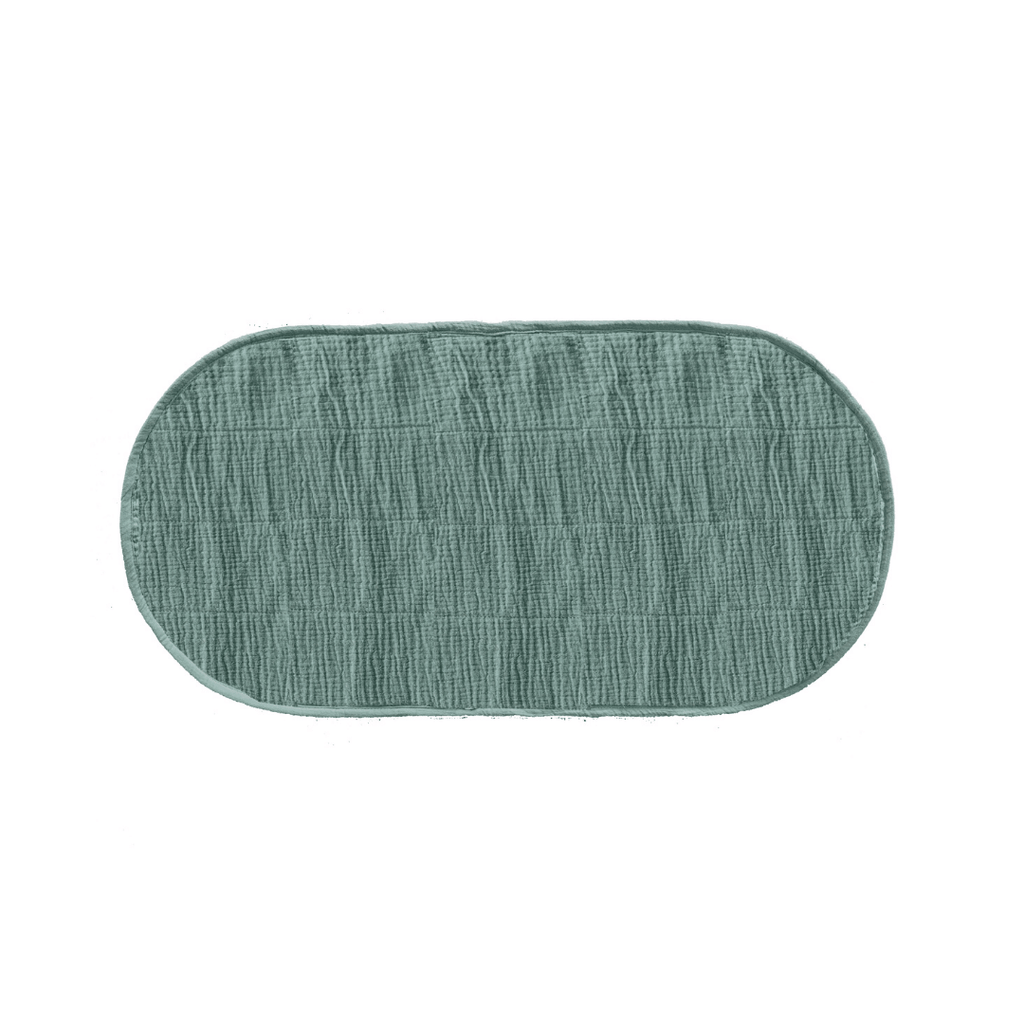 Luxe Organic Cotton Changing Basket Liner - Sage - Project Nursery