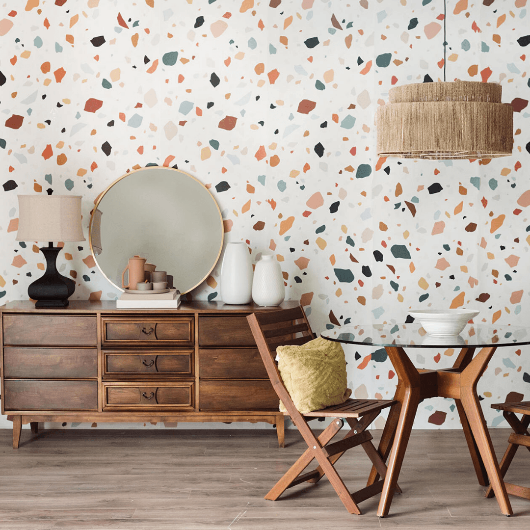 Terrazzo Wallpaper - Project Nursery