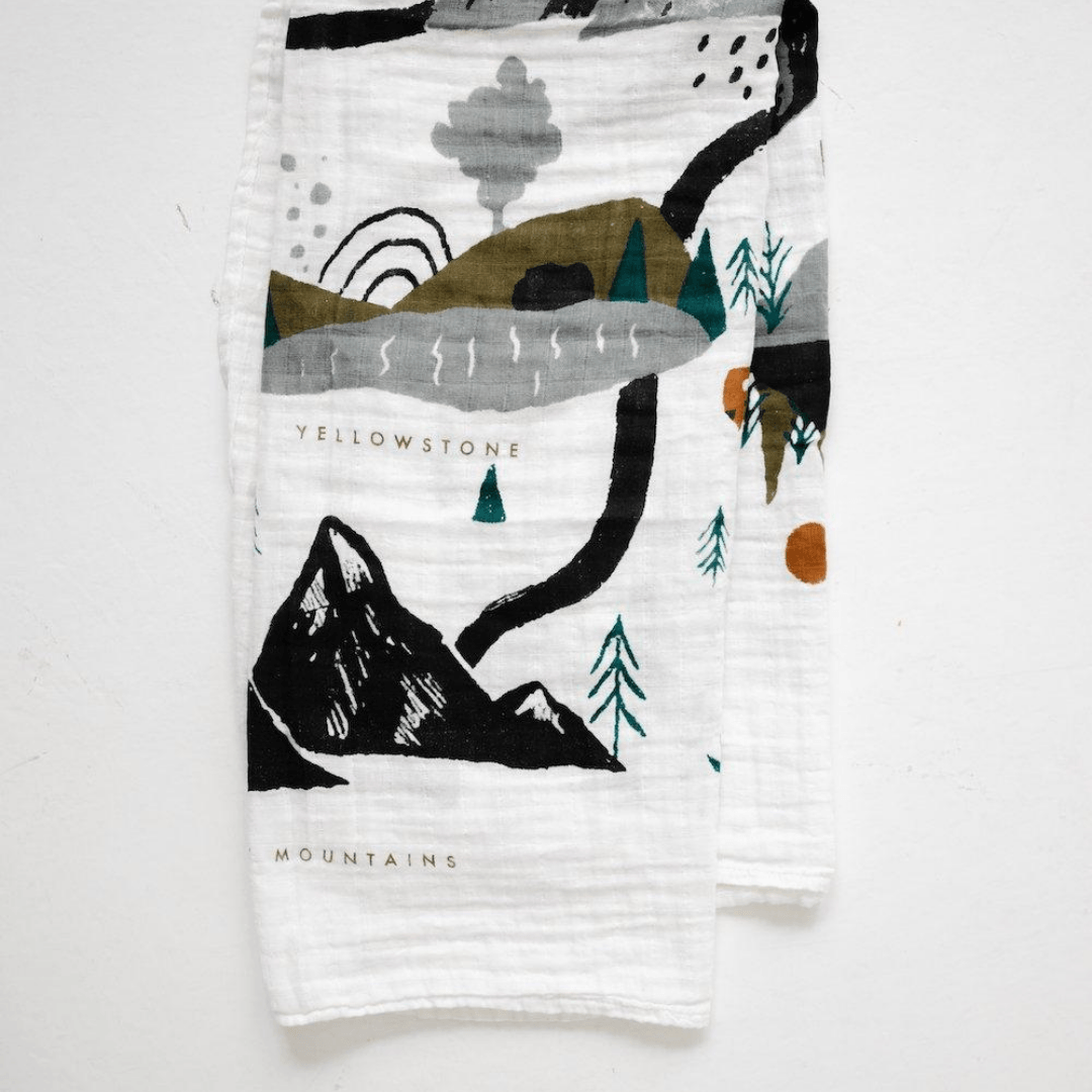 National Parks Swaddle Blanket - Project Nursery