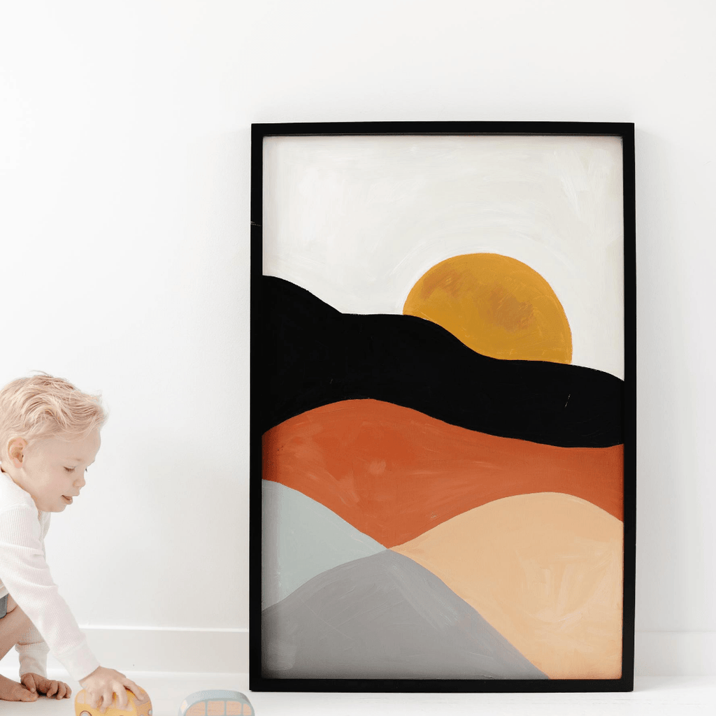 Sunset Art Print - Project Nursery