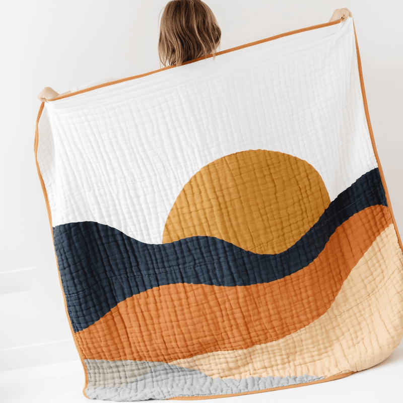 Sunset Quilt - Project Nursery