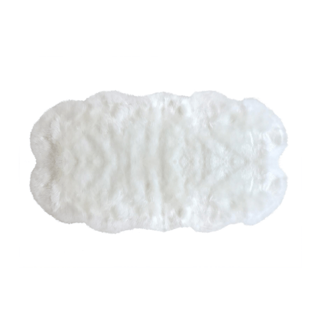 Faux Sheepskin Double Area Rug - Project Nursery