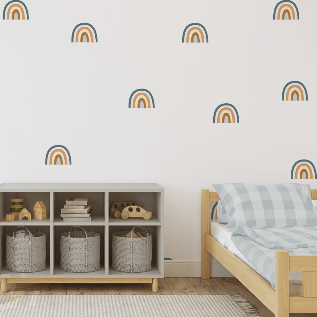 Blue Rainbow Decals - Project Nursery
