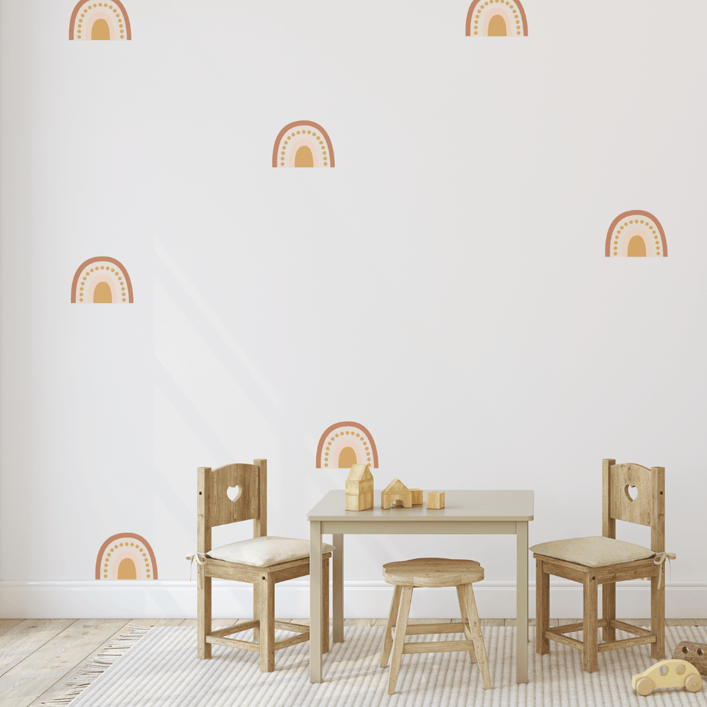 Nude Rainbow Decals - Project Nursery