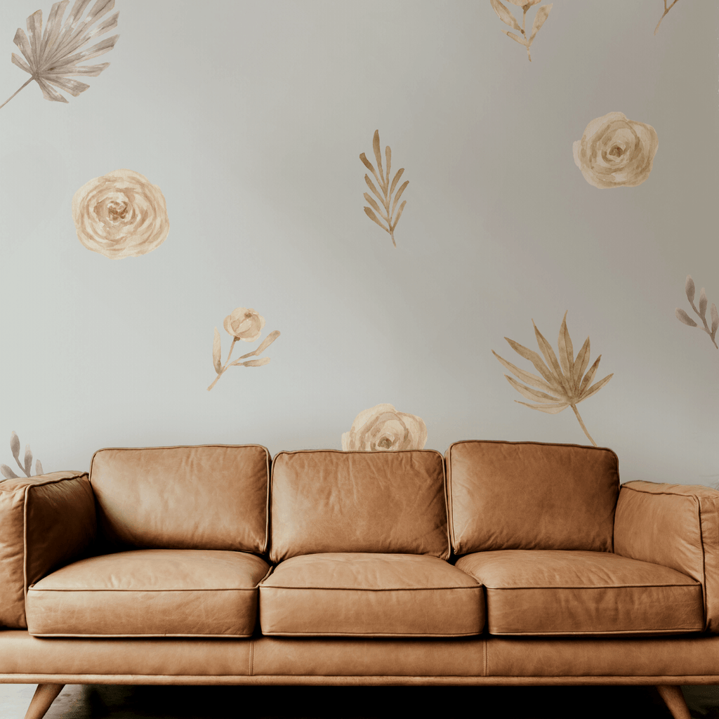 Boho Watercolor Flower Decals - Project Nursery