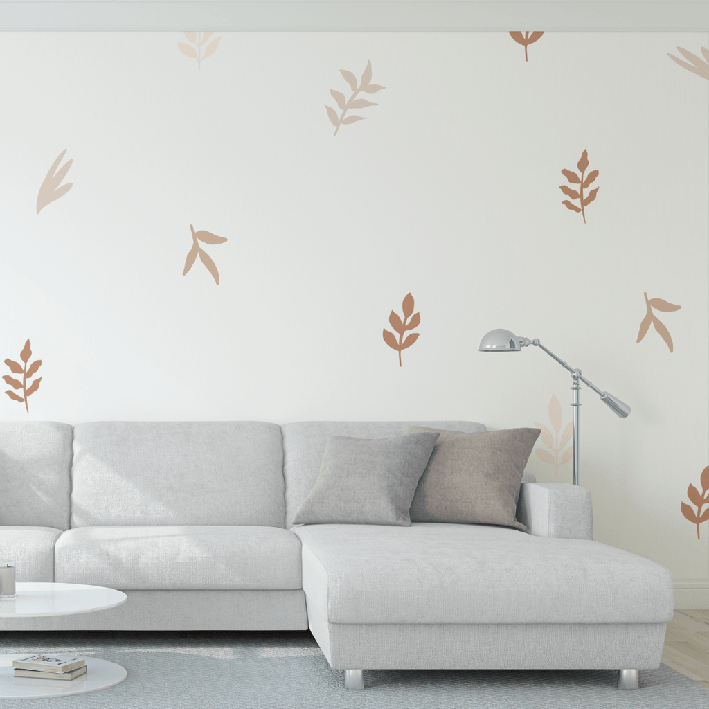 Nude Leaves Decals - Project Nursery
