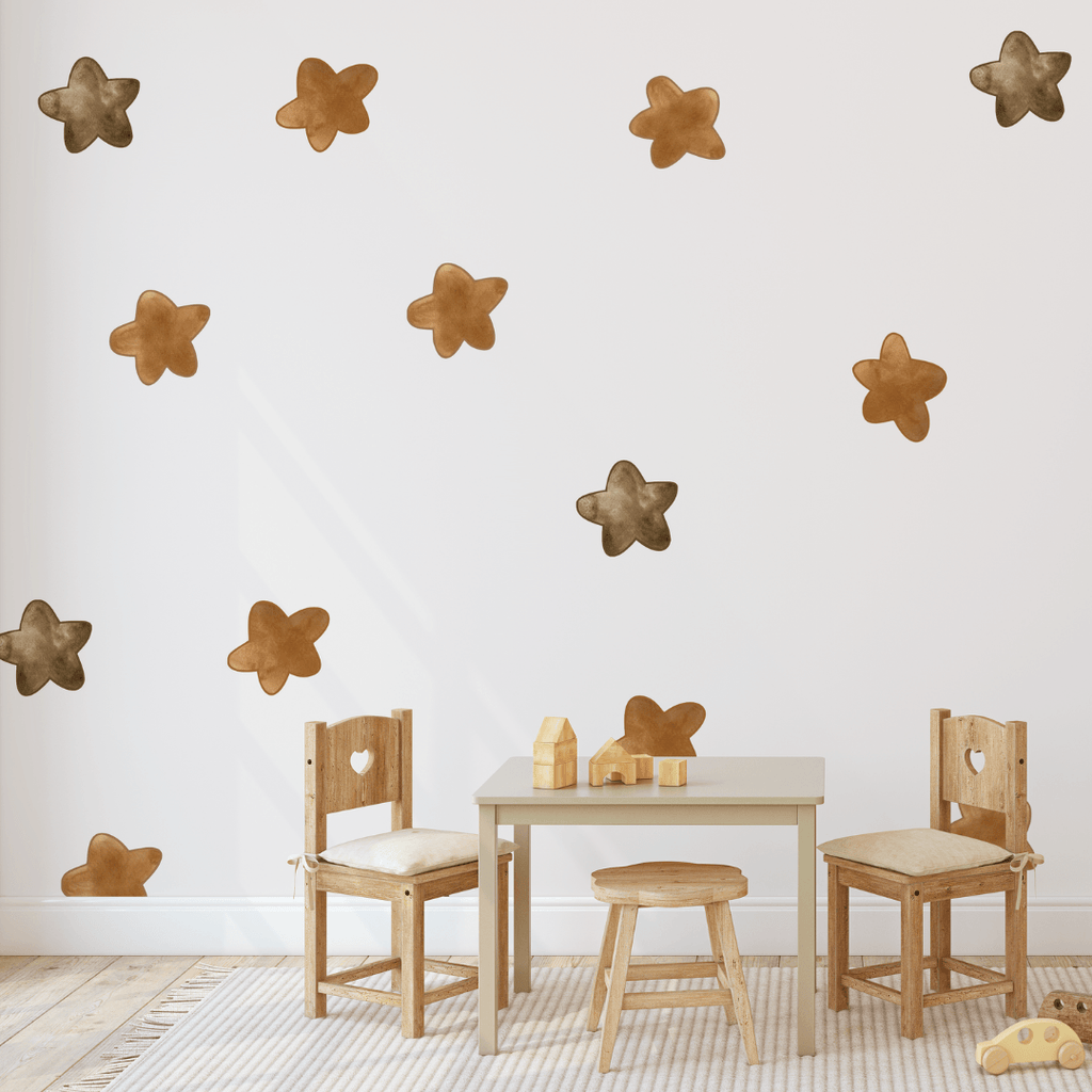 Watercolor Star Decals - Project Nursery