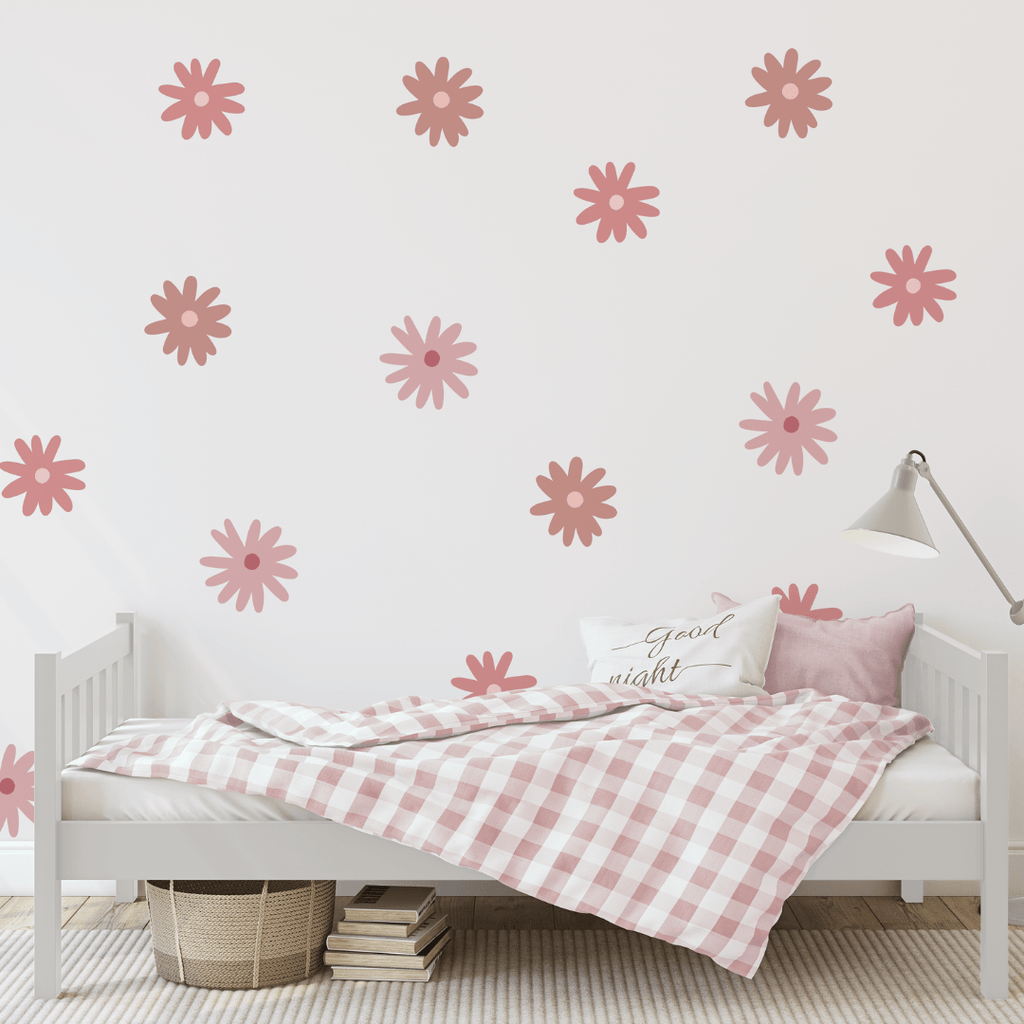 Pink Daisies Decals - Project Nursery