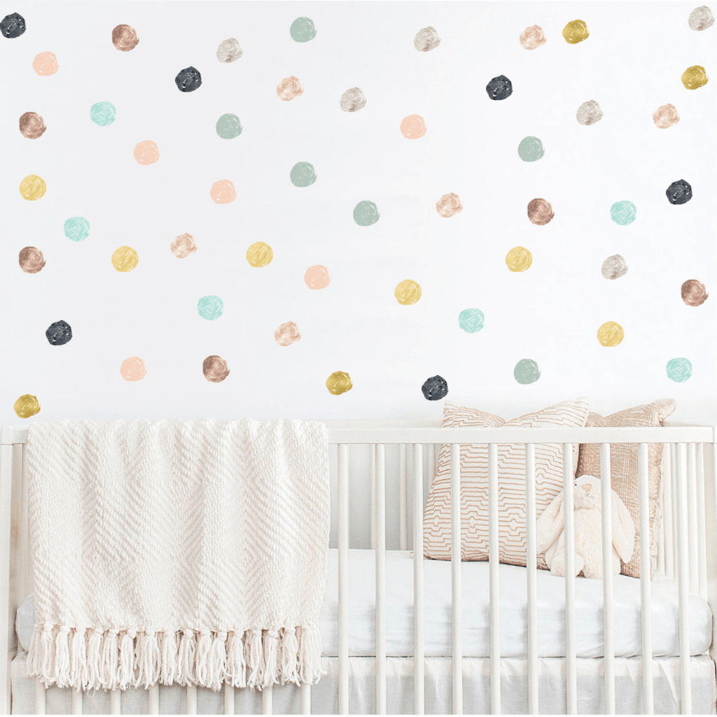 Scandinavian Dot Wall Stickers - Project Nursery