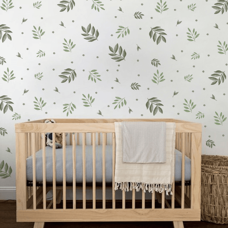 Watercolor Foliage Wall Stickers - Project Nursery