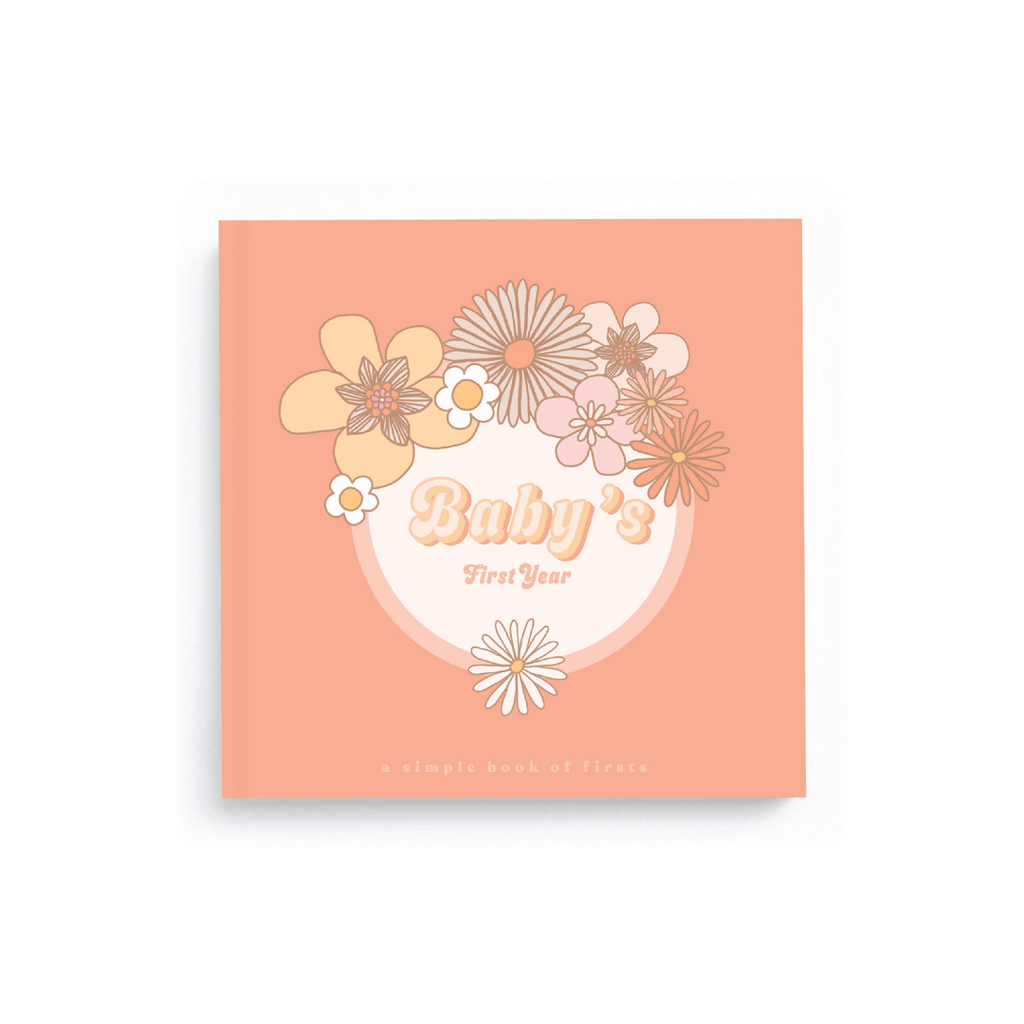 Flower Child Memory Book - Project Nursery