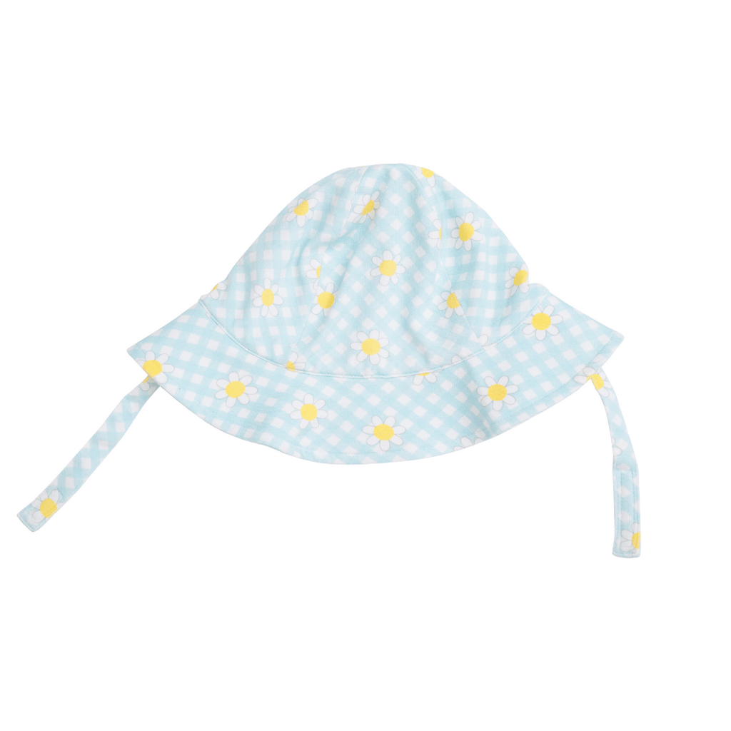Gingham Daisy Sunhat - Project Nursery