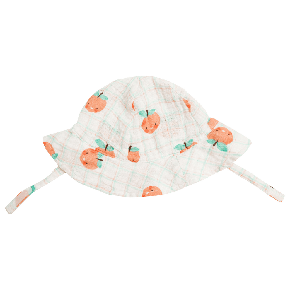 Plaid Peaches Sunhat - Project Nursery