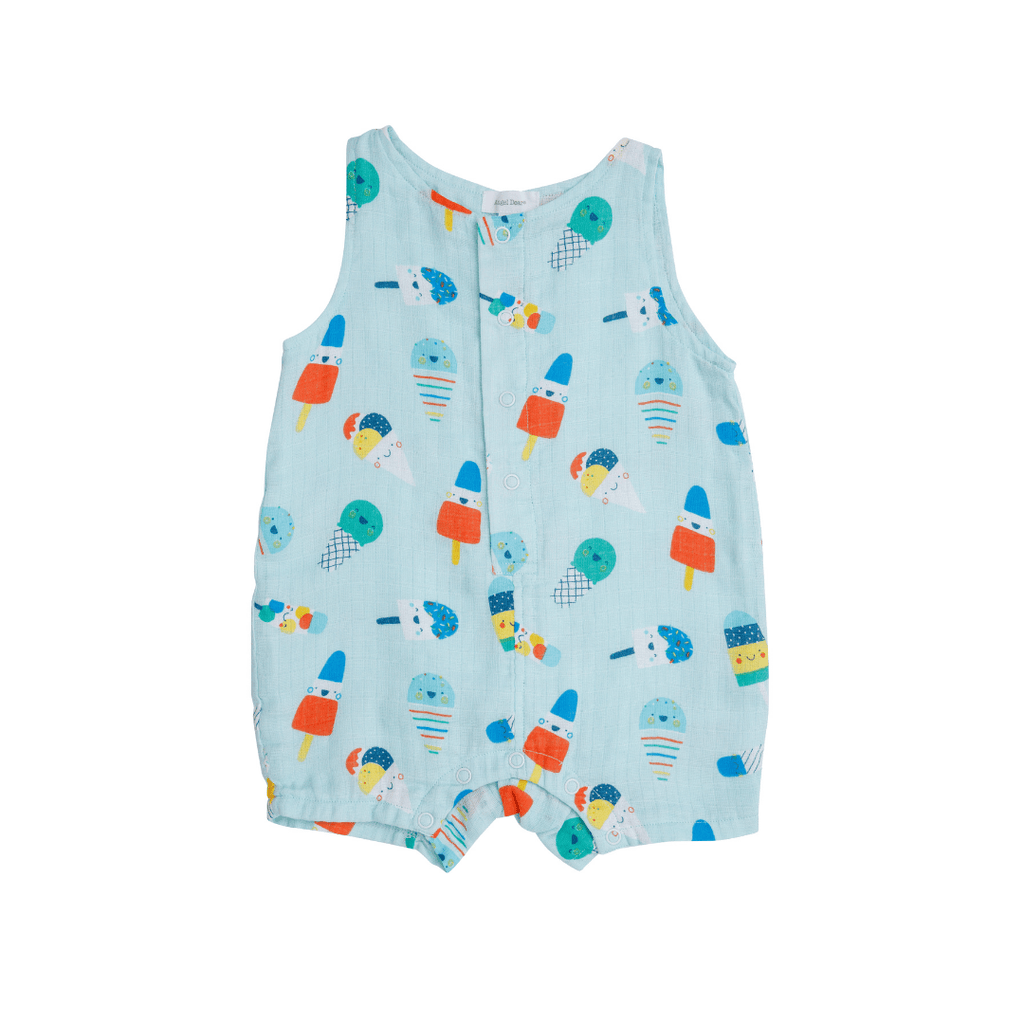 Popsicles Shortie Romper - Project Nursery
