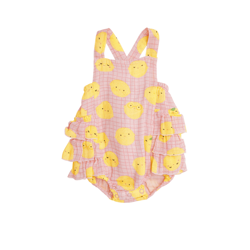 Lemons Ruffle Sunsuit - Project Nursery