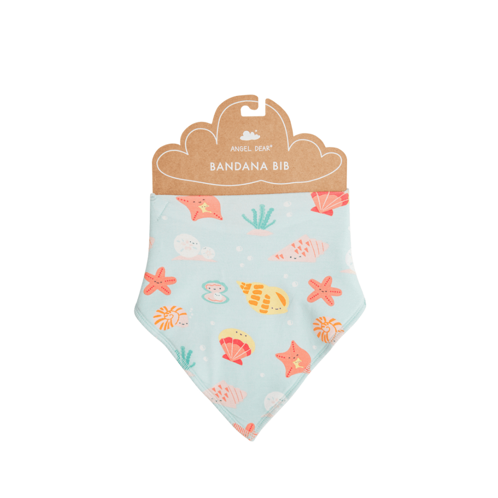 Happy Shells Bandana Bib - Project Nursery