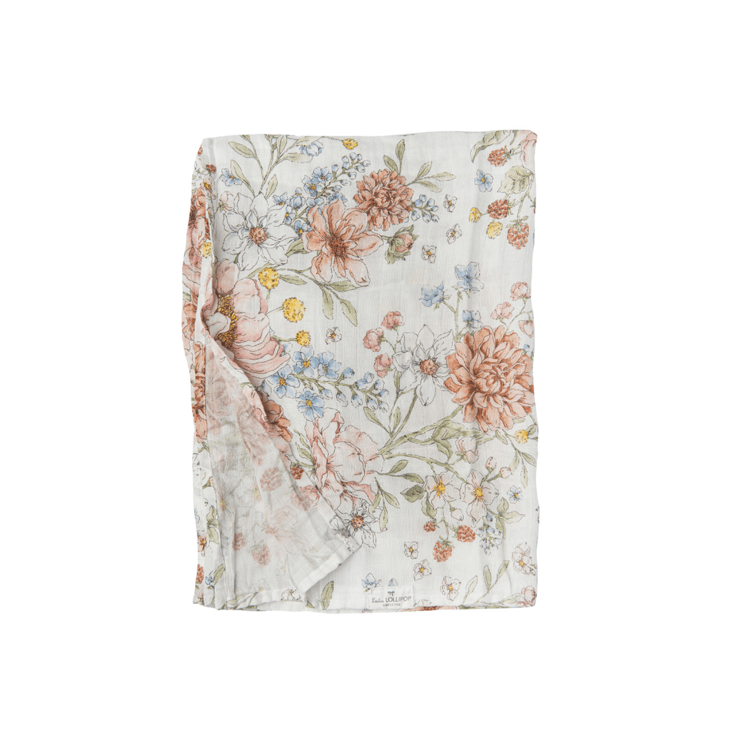 Secret Garden Swaddle - Project Nursery