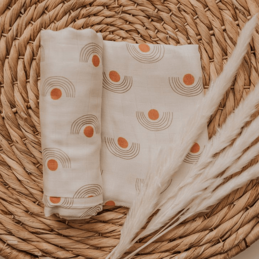 Dawn Muslin Swaddle Blanket - Project Nursery