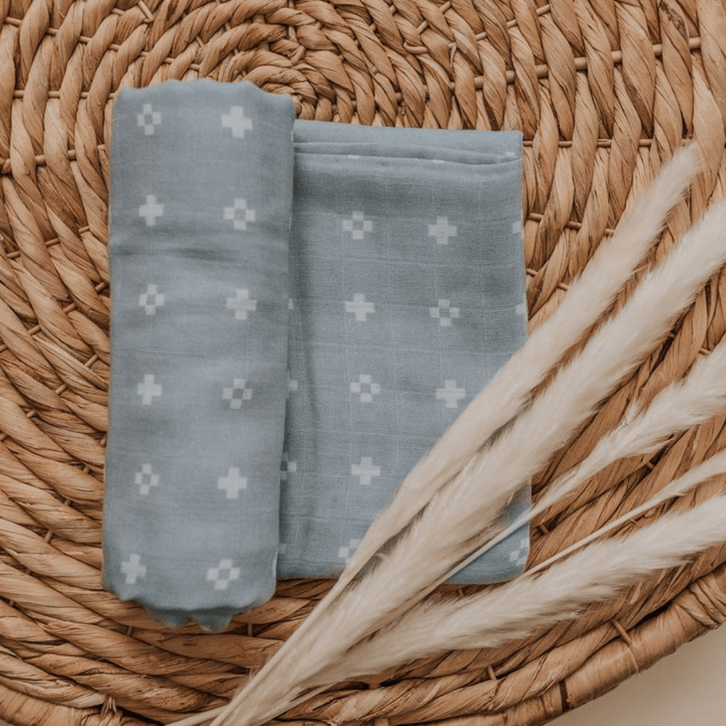 Beau Muslin Swaddle Blanket - Project Nursery
