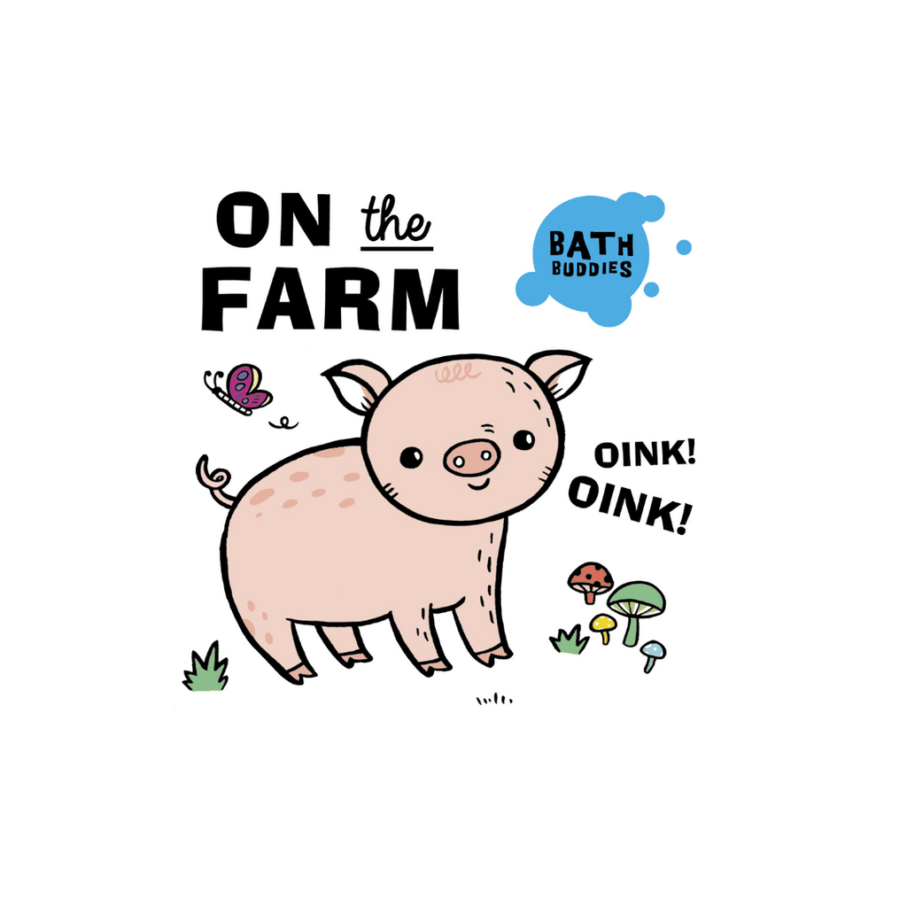On The Farm Bath Book - Project Nursery