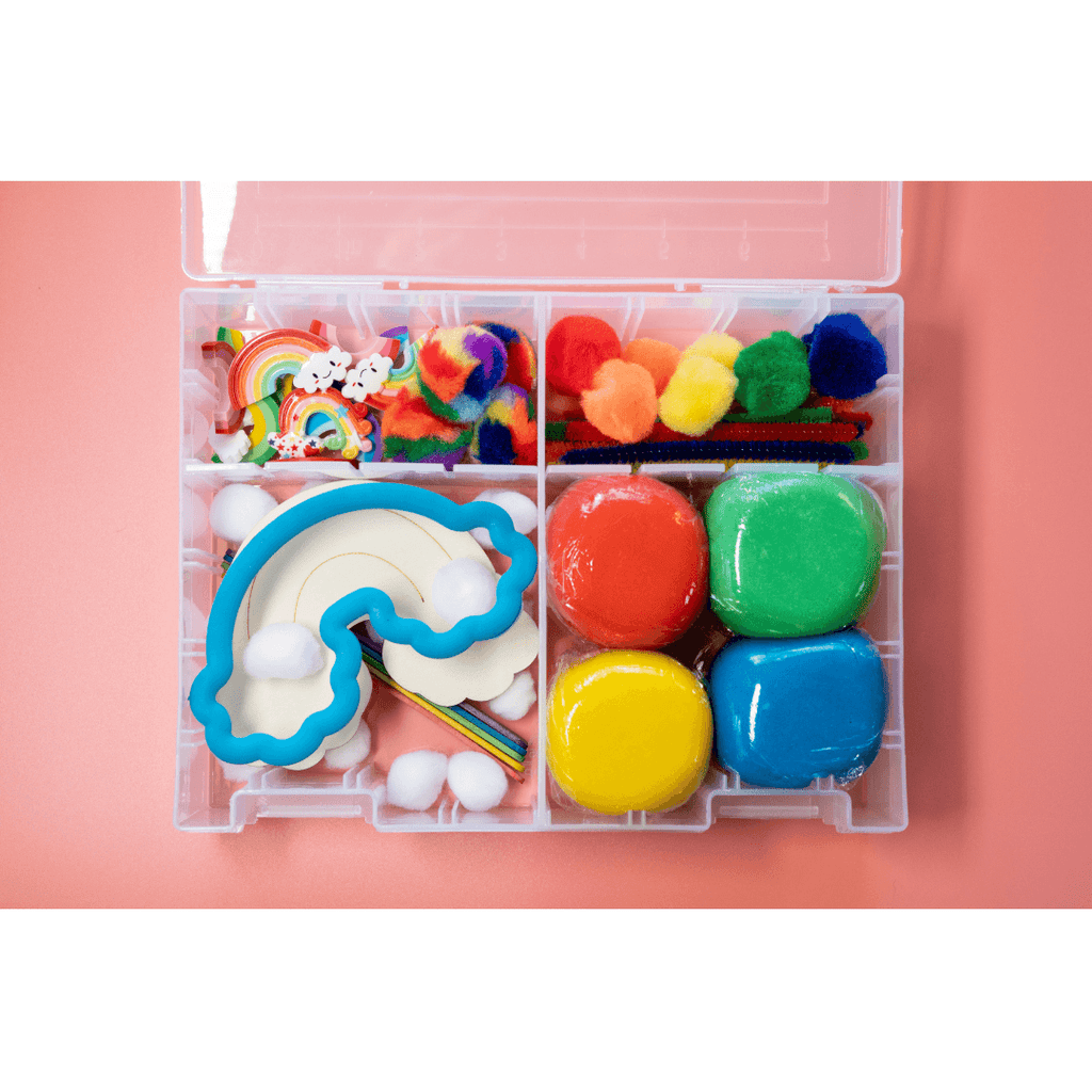 Rainbow Playdough Kit - Project Nursery