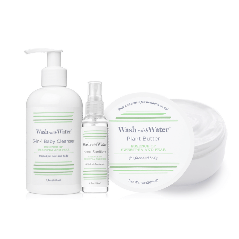 Wash with Water Sweetpea & Me 3PC Gift Set - Project Nursery