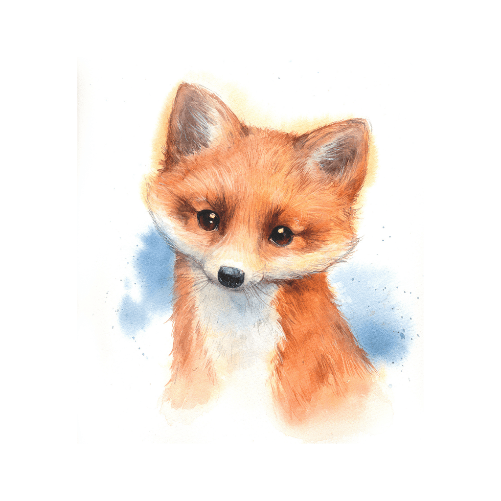 Baby Fox Print - Project Nursery
