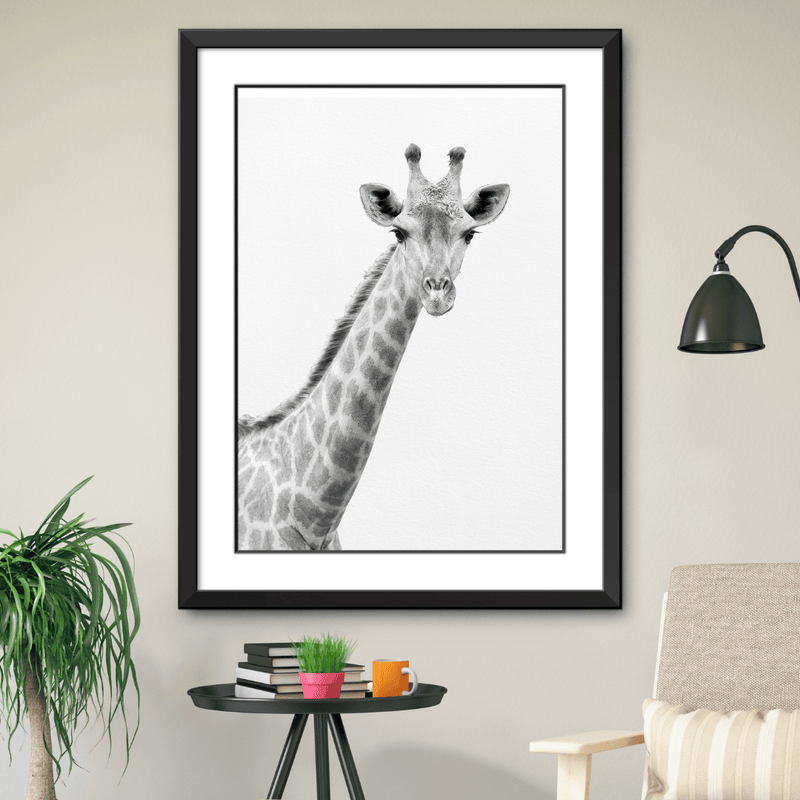 Black and White Giraffe Print - Project Nursery